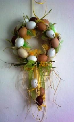 Obrázek výrobku: Velikonoční věnec z - přírodní