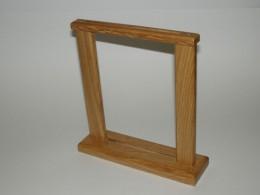 Obrázek výrobku: Dřevěný stojánek na nápojový lístek 2 - dub, barva přírodní