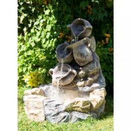 Obrázek výrobku: Zahradní kašna - fontána - DŽBÁNKY