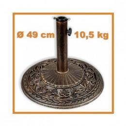 Obrázek výrobku: Stojan na slenečníky - bronz s patinou