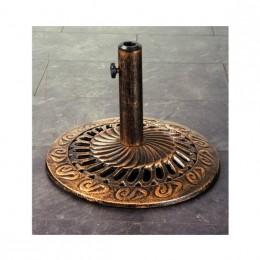 Obrázek výrobku: Stojan na slunečník - bronz/patina