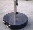 Výrobek: Stojan na slunečník (kruhový) - mramorový, 40 kg