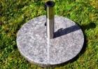Výrobek: Stojan na slunečník - mramor - barva šedá