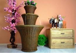 Obrázek výrobku: Zahradní fontána s dekorativním podstavcem