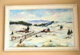 Obrázek výrobku: Podhuří Beskyd v zimě