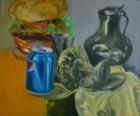 Výrobek: Zátiší - olej na plátně