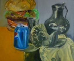 Obrázek výrobku: Zátiší - olej na plátně