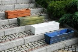 Obrázek výrobku: Truhlík zelený - borovice - 64 cm