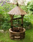 Výrobek: Dřevěná zahradní studna - borovice