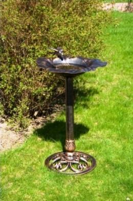Obrázek výrobku: Litinové ptačí krmítko - barvy bronz
