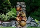 Výrobek: Zahradní kašna - fontána se čtyřmi džbánky