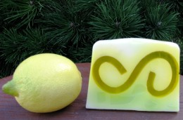 Obrázek výrobku: Rostlinné glycerinové mýdlo - citrón