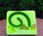 Výrobek: Rostlinné glycerinové mýdlo - kiwi