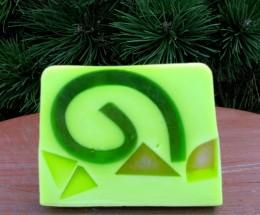 Obrázek výrobku: Rostlinné glycerinové mýdlo - kiwi