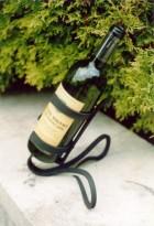 Výrobek: Originální ručně kovaný stojan na víno 2