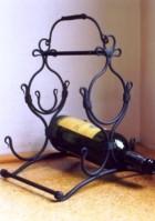 Výrobek: Originální ručně kovaný stojan na víno 3