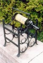 Výrobek: Originální ručně kovaný stojan na víno 6