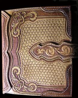 Obrázek výrobku: Originální kožený obal na knihu - ruční práce