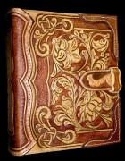 Výrobek: Originální kožený obal na knihu 2 - ruční práce